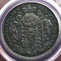 george VI 1826 proof crown2