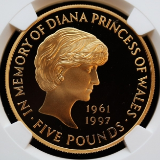 diana GB 1999 5 pounds