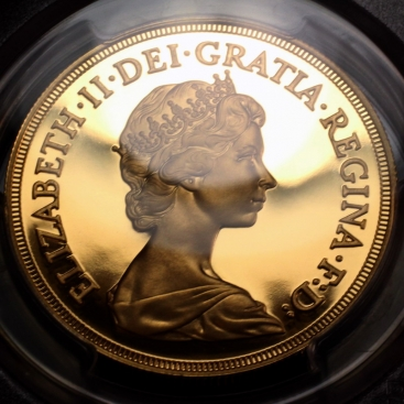 elizabeth II 5 pounds gold 198