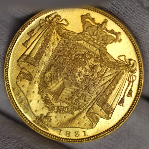 william 2 pounds 1831 gb
